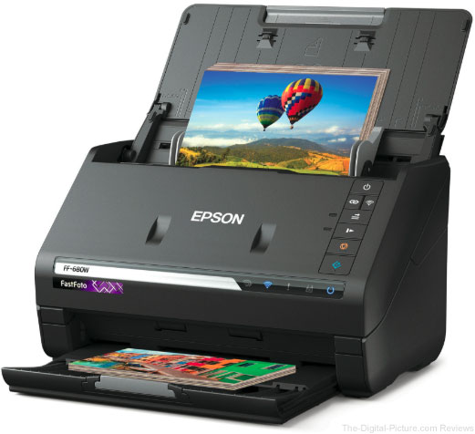 Epson FastFoto FF-680W Wireless High-Speed Photo Scanner