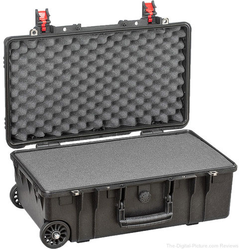 Explorer Cases Medium Hard IATA Case 5221B & Wheels with Foam