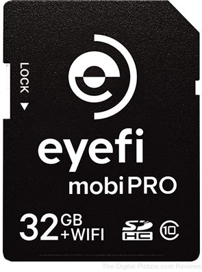 Eyefi Introduces Mobi Pro – The Most Powerful WiFi SD Card Ever