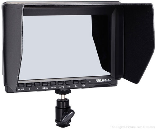 "FeelWorld FW759 7"" IPS HDMI On-Camera Monitor with Sunshade and HDMI Lock - $99.00 Shipped (Reg. $139.00)"