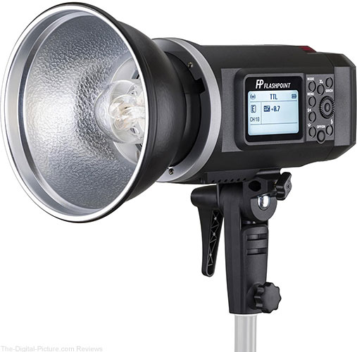 Flashpoint XPLOR 600 HSS TTL Battery-Powered Monolight