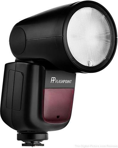 Flashpoint Zoom Li-on X R2 TTL On-Camera Round Flash Speedlight (Godox V1)