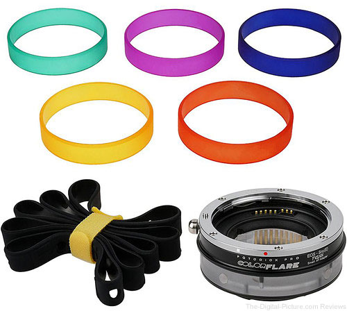FotodioX ArtFX ColorFlare FUSION Smart AF Adapter for Canon EF/EF-S Lens to Sony E-Mount Camera