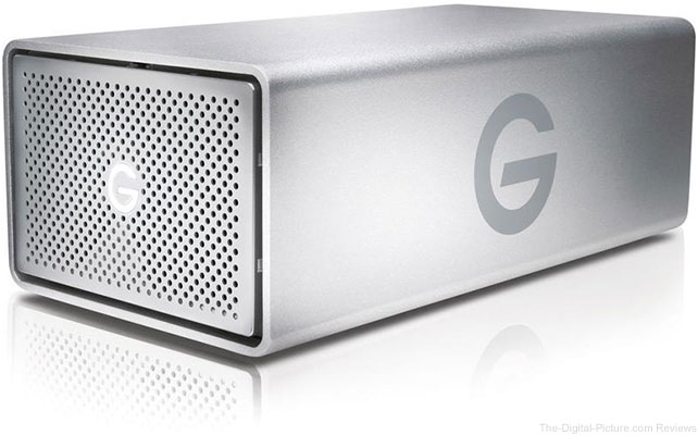 G-Technology G-RAID USB G1 8TB Removable Dual-Drive Storage System - $299.95 Shipped (Reg. $529.95)