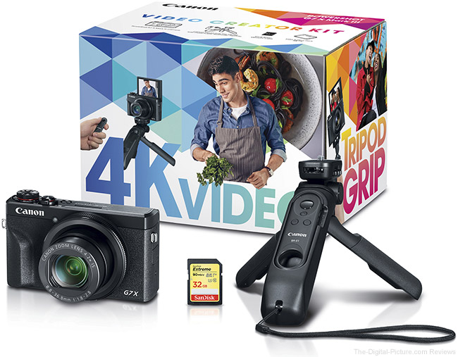 G7 X Mark II Video Creator Kit