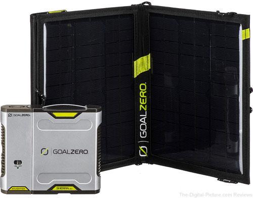 GOAL ZERO Sherpa 50 Solar Charging Kit with 110 VAC Inverter - $199.95 Shipped (Reg. $399.95)