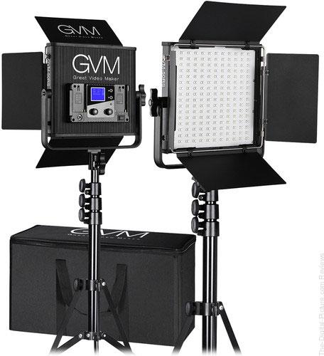 GVM 50RS2L RGB 2-Light Kit