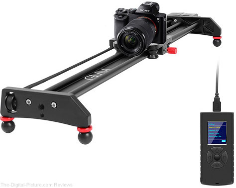 "GVM Professional Video Aluminum Alloy Motorized Camera Slider (23"")"