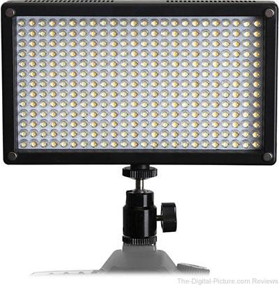 Genaray LED-7100T 312 LED Variable-Color On-Camera Light - $151.20 Shipped (Reg. $189.00)