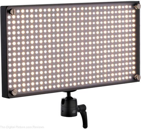 Genaray SpectroLED Outfit 500 Bi-Color LED Light - $199.95 Shipped (Reg. $494.95)
