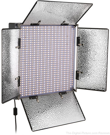 Genaray SpectroLED Studio 1000 Bi-Color LED Light - $399.95 Shipped (Reg. $938.95)