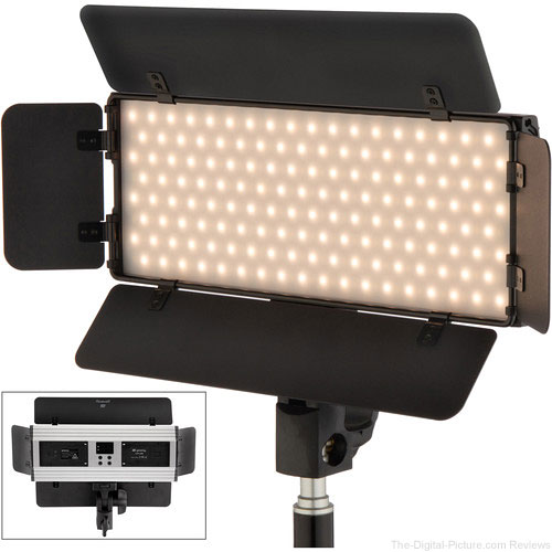 Genaray Ultra-Thin Bicolor 288 SMD LED On-Camera Light