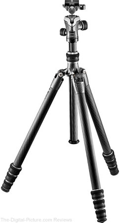 Gitzo GIGT1545T Traveler Series 1 Carbon Fiber Tripod with Center Ball Head