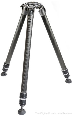 Gitzo GT4533LS Systematic Series 4 Carbon Fiber Tripod (Long)