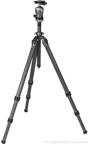 Gitzo Mountaineer Series 3 GT3532 Carbon Fiber Tripod with GH3382QD Center Ball Head