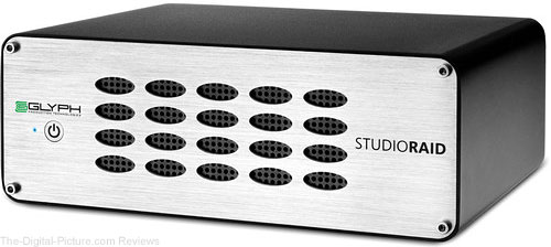 Glyph Technologies StudioRAID Enterprise Class 8TB 2-Bay USB 3.0 RAID Array
