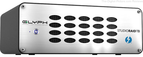 Glyph Technologies StudioRAID Thunderbolt 2 Enterprise Class 8TB 2-Bay Thunderbolt - $449.95 Shipped (Reg. $599.95)