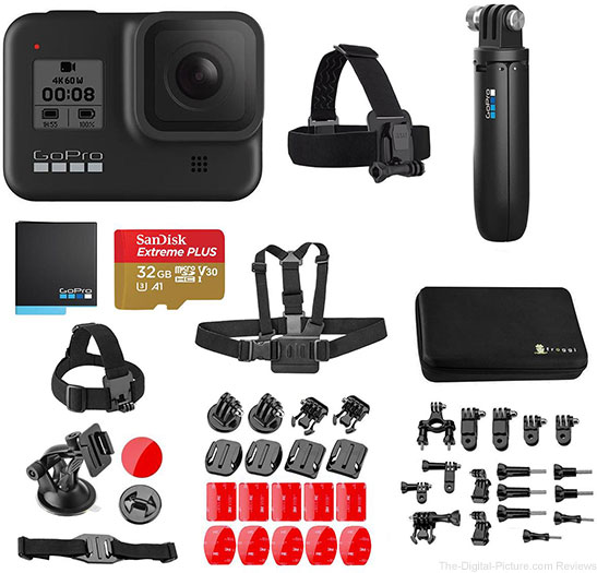 GoPro HERO8 Black with Accessories Kit