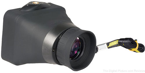 Hoodman Compact HoodLoupe Optical Viewfinder for 3.2in LCD Screens