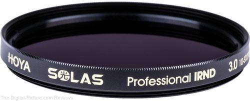 Hoya Introduces SOLAS IRND Filters