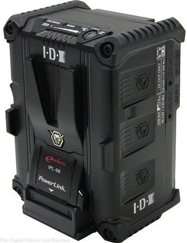 IDX System Technology IPL-98 Powerlink Li-Ion High-Load V-Mount Battery with 96Wh Capacity - $325.00 Shipped (Reg. $495.00)