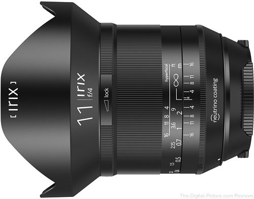 Save $50.00 on the IRIX 11mm f/4 Blackstone Lens