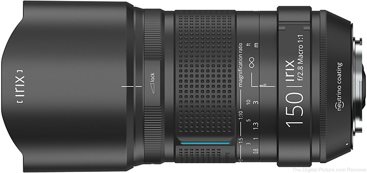 IRIX Announces 150mm f/2.8 Macro Lens