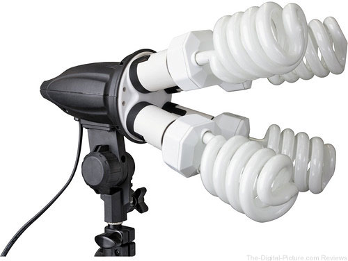 Impact 4 Socket Fluorescent Fixture - $69.95 Shipped (Compare at $129.95)