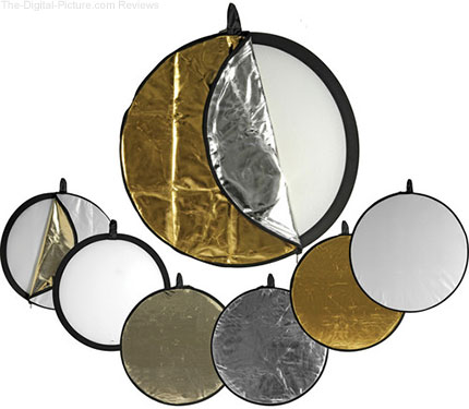 "Impact 5-in-1 Collapsible Circular Reflector 42"" - $24.95 Shipped (Reg. $49.95)"