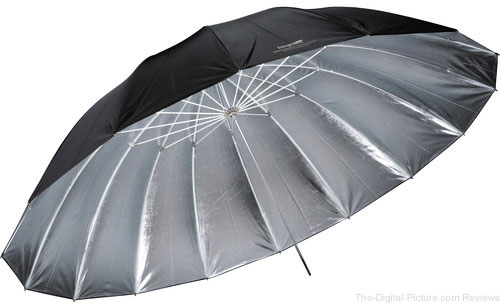 Impact 7' Improved Parabolic Umbrella (Silver) - $59.97 Shipped (Reg. $99.95)
