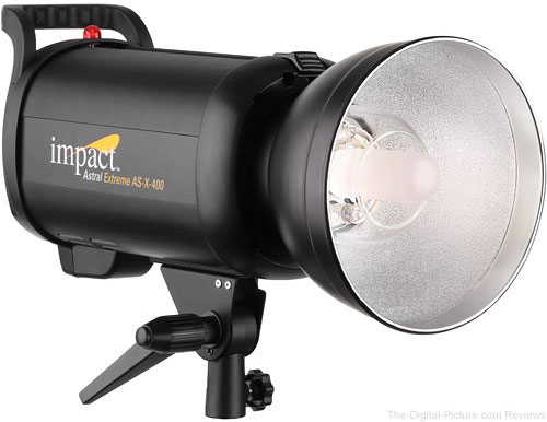 Impact Astral Extreme AS-X-400 Monolight - $299.95 Shipped (Reg. $404.95)