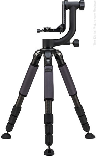 Induro GIT304 Grand Series 3 Stealth Carbon Fiber Tripod with GHB2 Gimbal Head