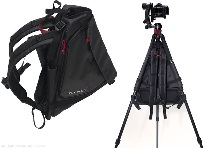 KITE OPTICS Viato Tripod Backpack