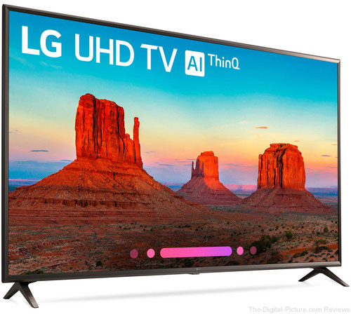"LG UK6300PUE 49"" Class HDR UHD Smart IPS LED TV - $299.99 Shipped (Reg. $599.99)"