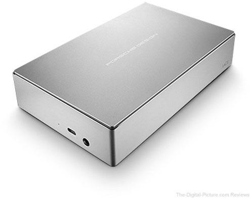 LaCie 4TB Porsche Design USB Type-C Desktop Drive
