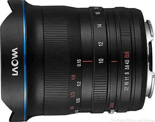Laowa 10-18mm f/4.5-5.6 FE Zoom lens