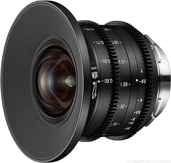 Laowa 12mm t/2.9 Zero-D Cine Lens