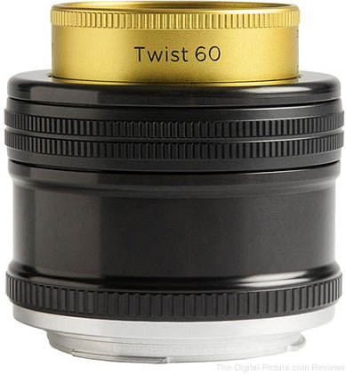 Lensbaby Introduces Twist 60 with Petzval-like Bokeh