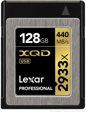 Lexar XQD 2.0 Memory Cards In Stock at B&H