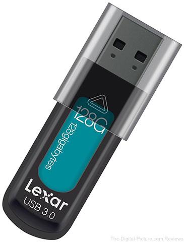 Lexar JumpDrive S57 128GB Flash Drive