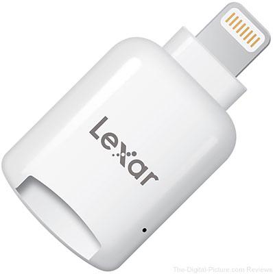Lexar microSD Reader with Lightning Connector