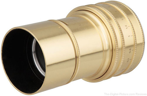 Lomography Daguerreotype Achromat 64mm f/2.9 Art Lens In Stock at B&H