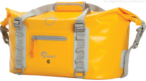 Lowepro DryZone Duffle Bag 20L (Yellow) In Stock at B&H