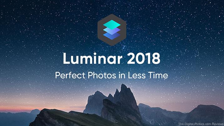 Luminar 2018 Banner