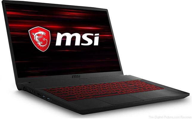 "MSI GF75 Thin 17.3"" Full HD Gaming Laptop Computer"
