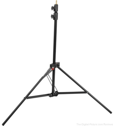 Manfrotto Alu Air-Cushioned Compact Stand Quick Stack 3-Pack