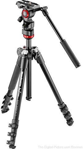 Manfrotto Befree Live Video Aluminum Tripod Kit with Case