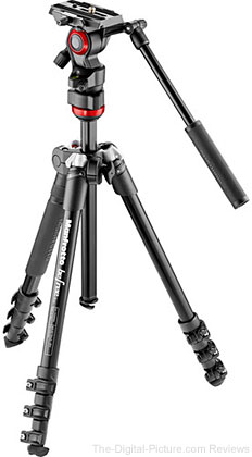 Manfrotto Befree Live Video Tripod