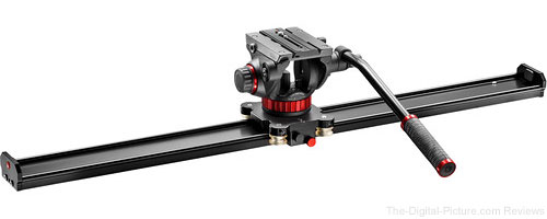 Manfrotto Introduces New Video Sliders