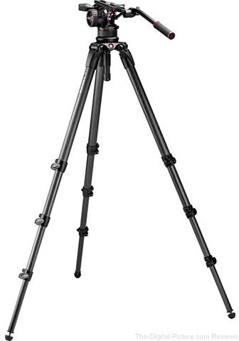 Manfrotto Nitrotech N12 & 536 Carbon Fiber Single Legs Tripod System